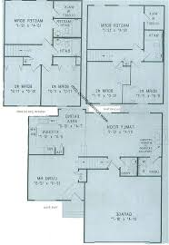 Split Level Home Designs Home Design Split Level House Floor Plan With Room Names Stock