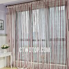 Red And White Striped Curtain Red And White Striped Simple Half Price Cheap Best Sheer Curtains