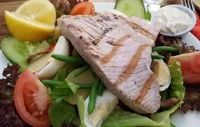 restaurant cuisine nicoise char grilled tuna nicoise picture of the pheasant restaurant