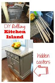rolling kitchen island ideas island makeover kitchen island makeover rolling kitchen island