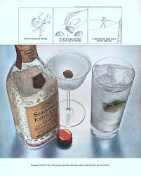 gin martini seagram u0027s gin advertisement gallery
