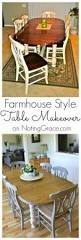 farmhouse style table makeover for 20 how we did it and