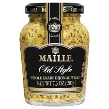 whole grain dijon mustard maille style whole grain dijon mustard 7 3oz target