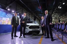 2018 ford ecosport starts production romania u0027s president test
