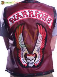 Halloween Costume Sale Warriors Vest Synthetic Leather Jacket Bikers Halloween