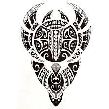5pcs tribal totem waterproof temporary tattoos