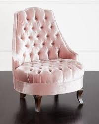 Pink Accent Chair Seating Blush Pink Accent Chair