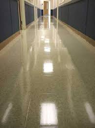 buff wax tile floors hickory