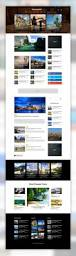 advertising template free travel blog or magazine free psd template beautiful website travel blog or magazine free psd template