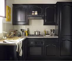 repeindre cuisine chene cuisine repeinte en noir meilleur cuisine repeinte en noir idées