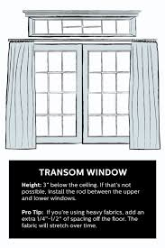 How To Hang Drapes How To Hang Curtains 101 Hang Curtains Window And Arched Window