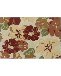 on sale now 60 off couristan dolce novella floral indoor outdoor