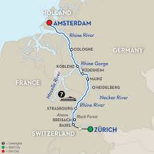 Map Of France And Switzerland by Switzerland River Cruise Avalon Waterways