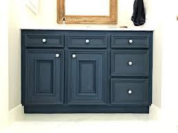 blue chalk paint kitchen cabinets blue diy chalk paint bathroom vanity makeover abbotts at home