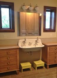 bathroom cabinets retro bathroom design