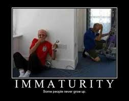 When I Grow Up Meme - immaturity some people never grow up