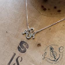 Monogram Necklaces Silver Handmade Silver Bespoke Monogram Necklace
