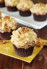 decadent german chocolate cupcakes recipe german chocolate