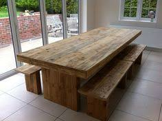 rustic farm table u0026 benches plans around the house useful