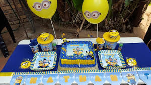 minions birthday party ideas kiddies theme party decor party supplies functions