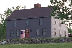 new england saltbox house our homes the saltbox