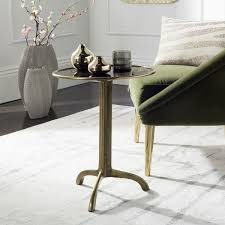 Brass Accent Table Safavieh Brent Antique Brass Accent Table Free Shipping Today