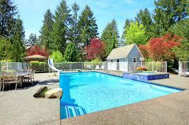 Backyard Pool Fence Ideas Backyard In Ground Pool Landscaping Ideas In Ground Pool Fence