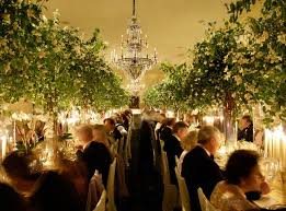 wedding trees rent trees for the reception not as center pieces but to soften