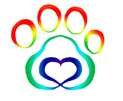 new multi color paw print tattoo sample clip art library