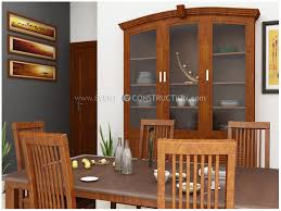 evens construction pvt ltd dining room design for kerala home