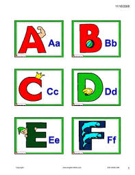 english for kids esl kids alphabet and phonics flashcards