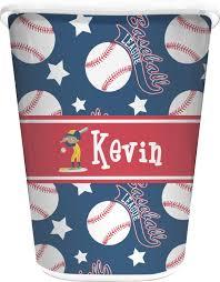 baseball waste basket personalized potty training concepts