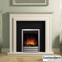 Electric Fireplace Suite Bemodern Devonshire Electric Fireplace Suite In Natural Oak Finish