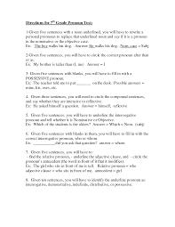 6th Grade Noun Worksheets Seventh Grade Noun Test Also Sample With Seventh Grade Noun Test