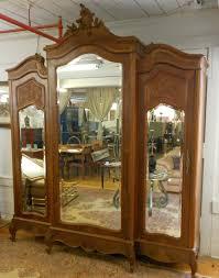 Wood Armoire Wardrobe Furniture Wardrobe Closet Wardrobe Closet Massachusetts Antique