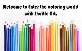 amazon com shuttle art 136 colored pencils soft core color