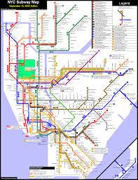 Metro Map New York by Metro Map Of New York Metro Maps Of United States U2014 Planetolog Com