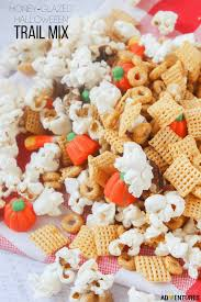 popcorn for halloween honey glazed halloween trail mix