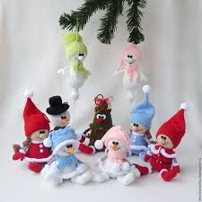 buy knitted toys company on livemaster shop