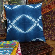 tie dye home decor indian pillow case tie dye print home decor throw cushion cotton bed