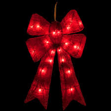 large lighted christmas bow diy christmas outdoor bows how to make a lighted christmas box