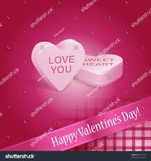 s day candy hearts pink happy valentines day candy hearts stock vector 91791434