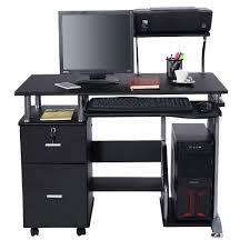 Desktop Computer Desk Costway Computer Desk Pc Laptop Table Workstation Home Office
