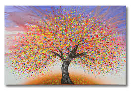 tree of lifeacrylic on stretched canvas