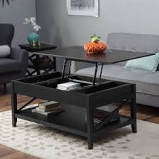 black lift top coffee table top lift coffee table home design ideas