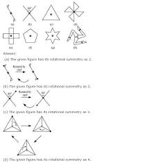 ncert solutions for class 7th maths chapter 14 symmetry exercise 14 2