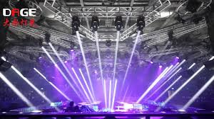 club lighting show dage lights 7r beam moving