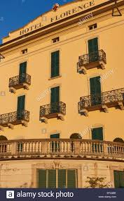 elegant stylish facade of the hotel florence in bellagio lake como