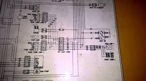 wiring diagram daewoo forklift 2 5 ton youtube
