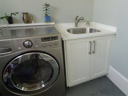 Sinks For Laundry Rooms by Laundry Room With Freestanding Sink Featured Cabinet Affordable